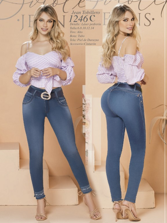 Colombian Butt lifting Jean - Ref. 280 -1246  Claro