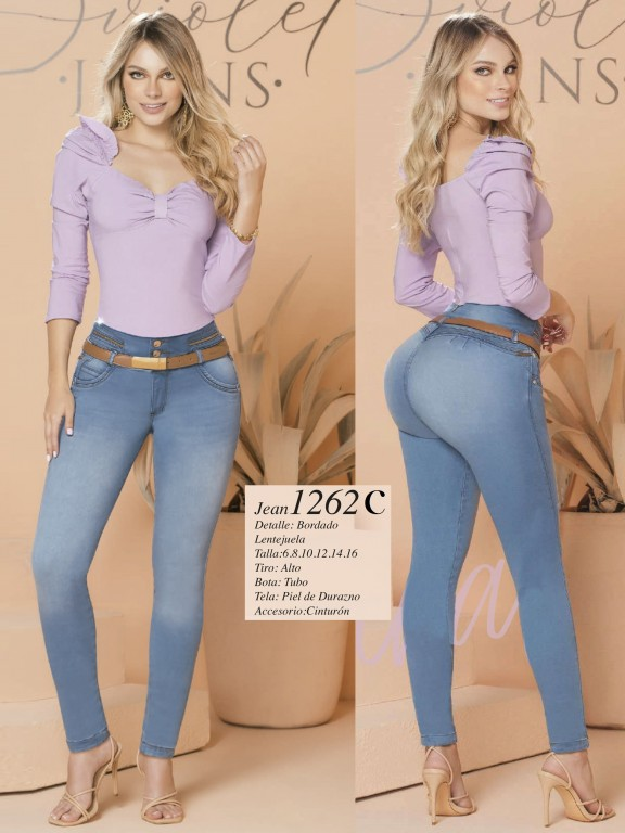 Colombian Butt lifting Jean - Ref. 280 -1262 Claro
