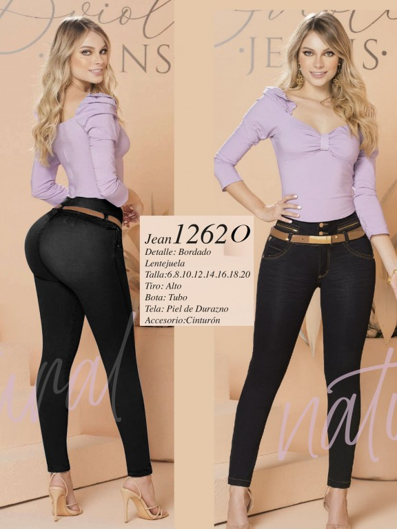 Colombian Butt lifting Jean - Ref. 280 -1262 Oscuro