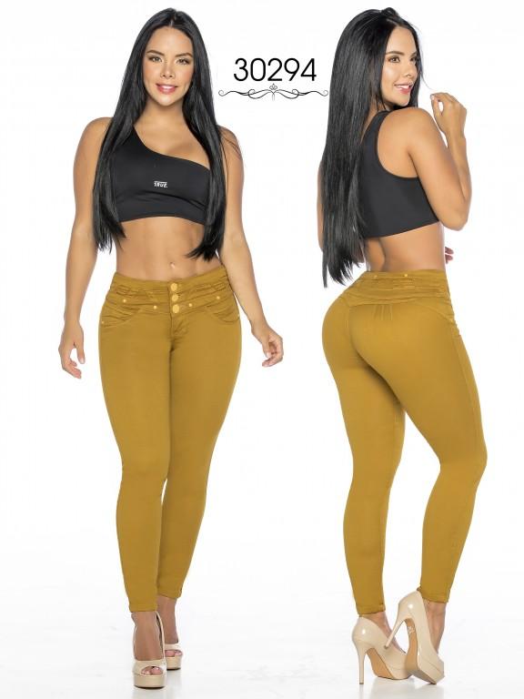 Colombian Butt lifting Jean - Ref. 119 -30294-TE