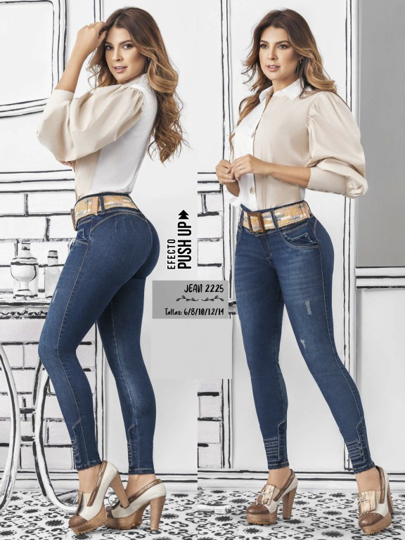 Colombian Butt lifting Jean - Ref. 307 -2225