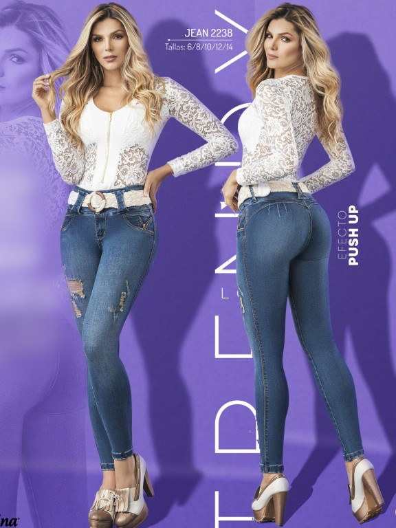 Colombian Butt lifting Jean - Ref. 307 -2238