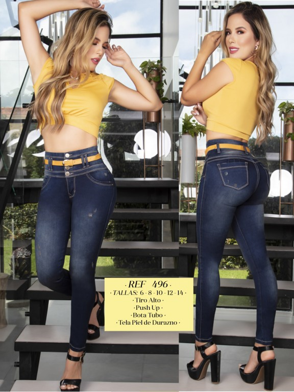 Colombian Butt lifting Jean - Ref. 119 -496