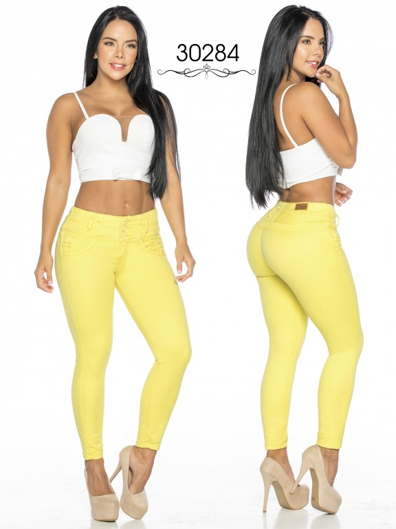 Colombian Butt lifting Jean - Ref. 119 -30284TE