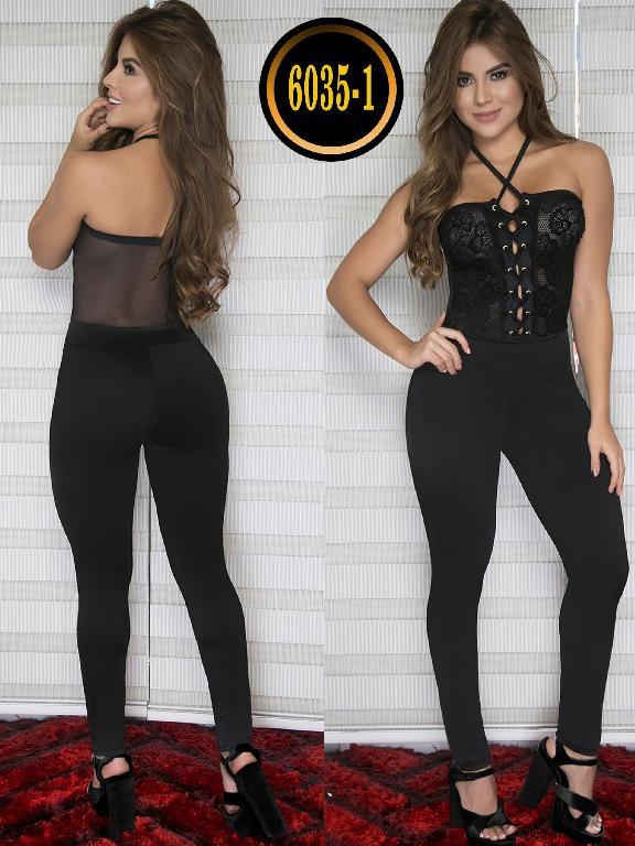 Enterizo Colombiano Moda Thaxx - Ref. 119 -6035-1 Negro