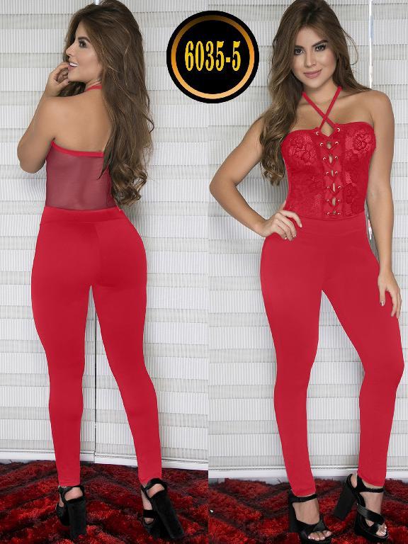 Enterizo Colombiano Moda Thaxx - Ref. 119 -6035-5 Rojo