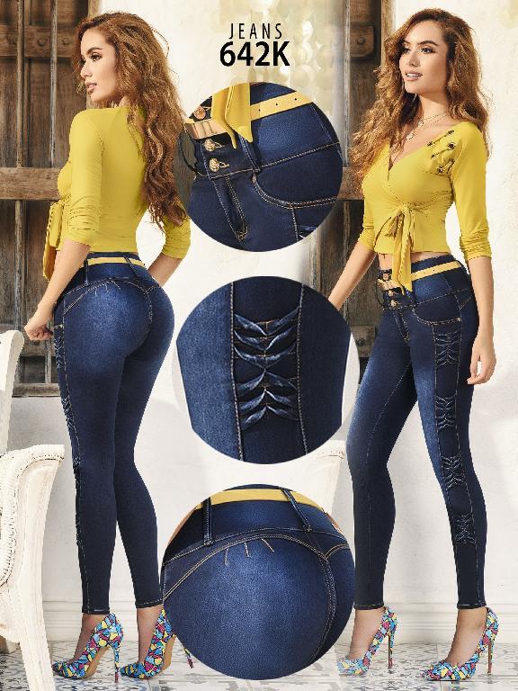 Colombian Butt lifting Jean - Ref. 119 -642K