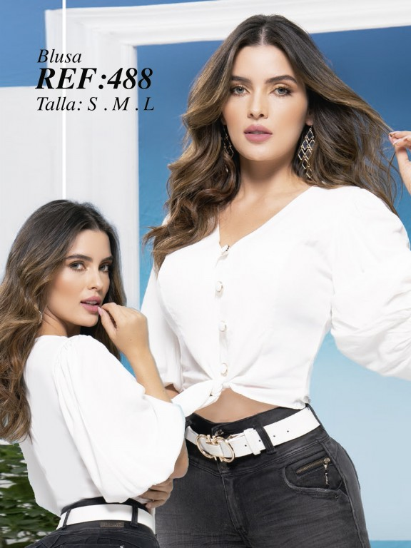 Colombian Fashion Blouse - Ref. 280 -488