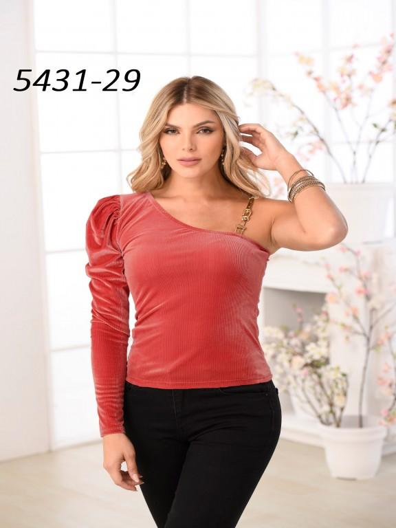 Colombian Fashion Blouse - Ref. 252 -5431 Salmon