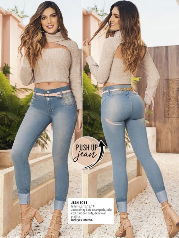 Colombian Butt lifting Jean - Ref. 308 -1011