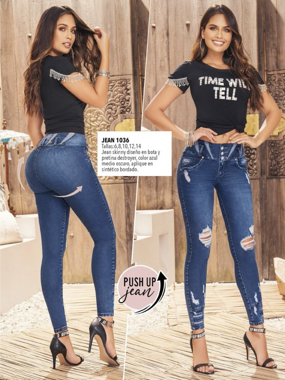 Colombian Butt lifting Jean - Ref. 308 -1036