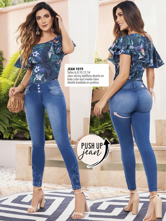 Colombian Butt lifting Jean - Ref. 308 -1019
