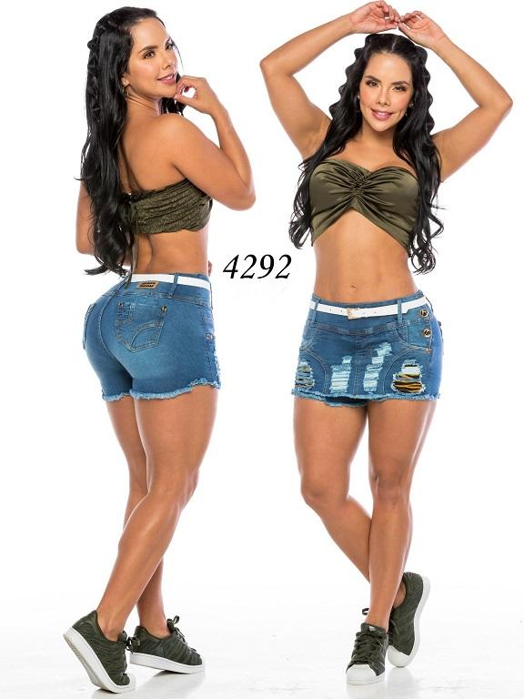 Falda Short Levantacola Colombiano - Ref. 119 -4292CK