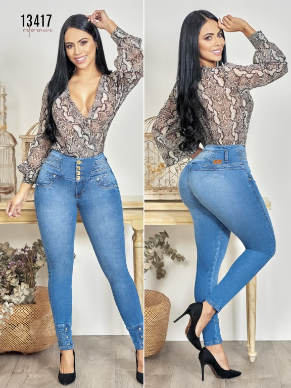 Colombian Butt lifting Jean - Ref. 123 -13417TW