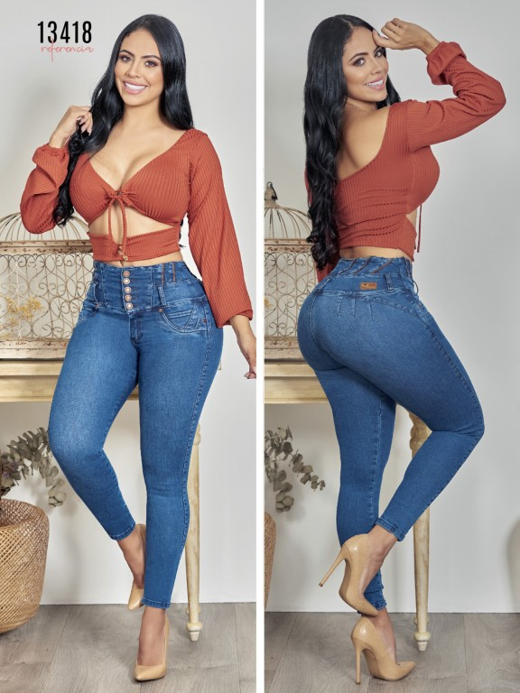 Colombian Butt lifting Jean - Ref. 123 -13418TW