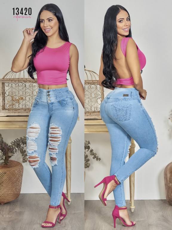 Colombian Butt lifting Jean - Ref. 123 -13420TW