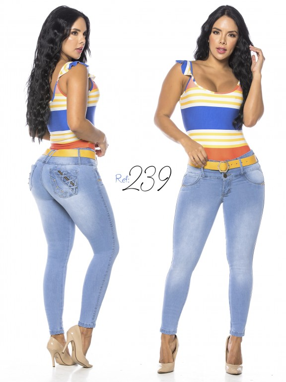 Colombian Butt lifting Jean - Ref. 293 -239