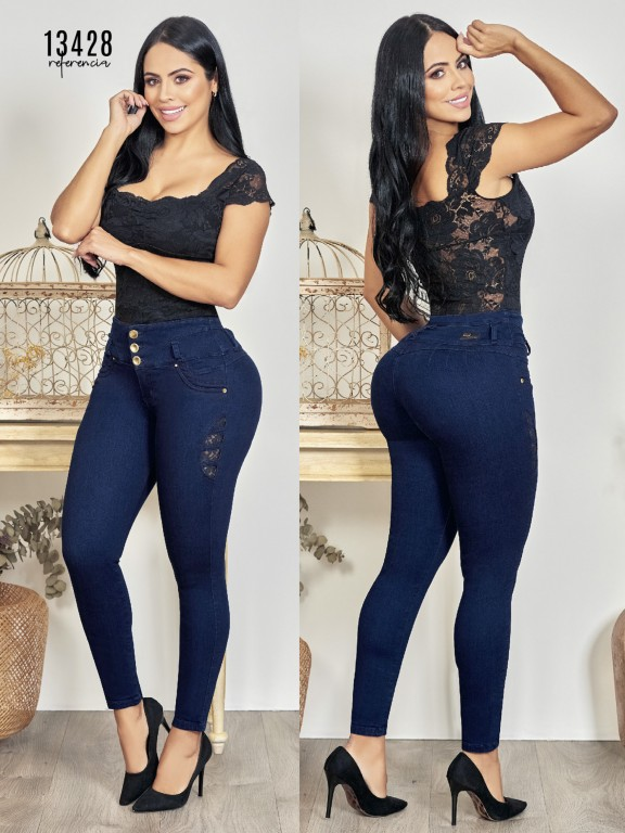 Colombian Butt lifting Jean - Ref. 123 -13428TW