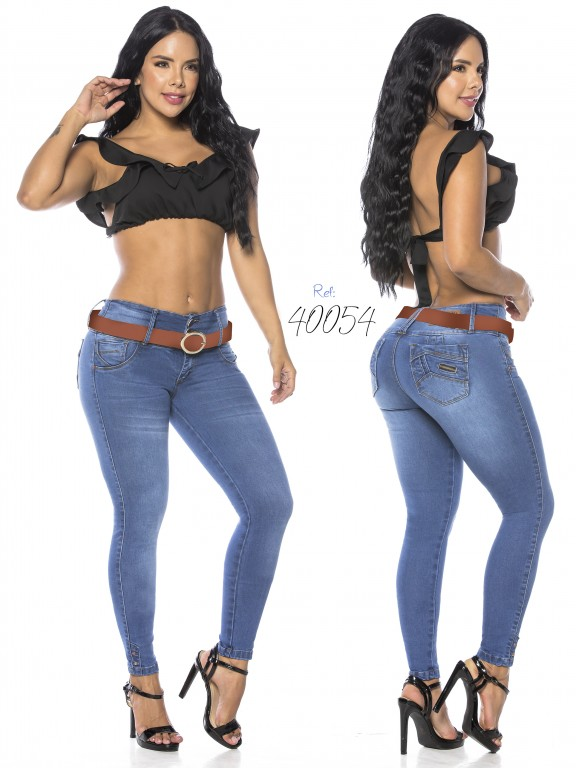 Colombian Butt lifting Jean - Ref. 269 -40054