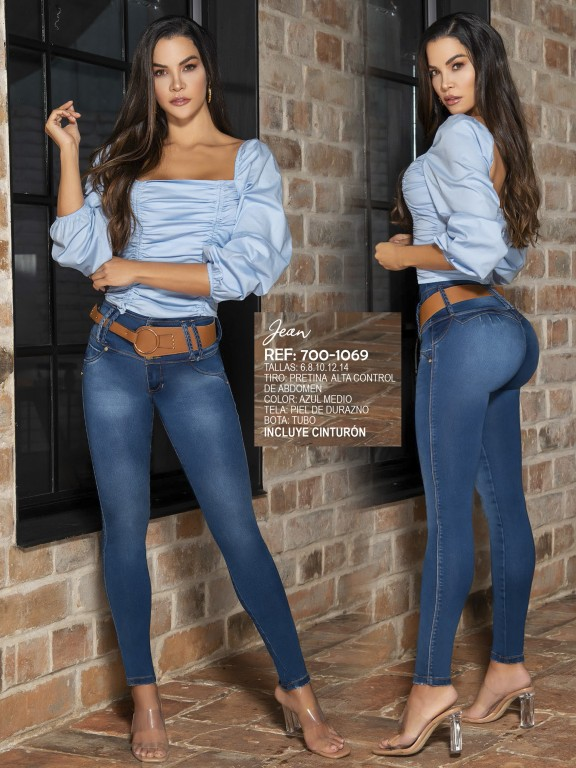 Jeans Levantacola Colombiano - Ref. 287 -1069