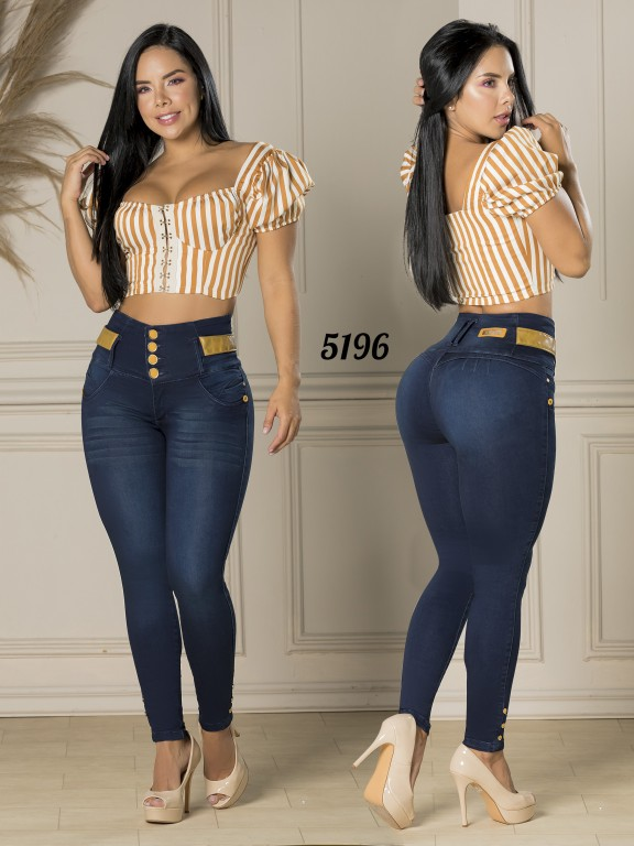 Jeans Levantacola Colombiano - Ref. 119 -5196-S