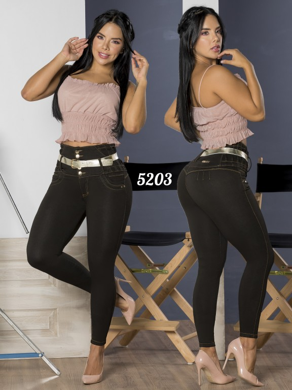 Jeans Levantacola Colombiano - Ref. 119 -5203-S