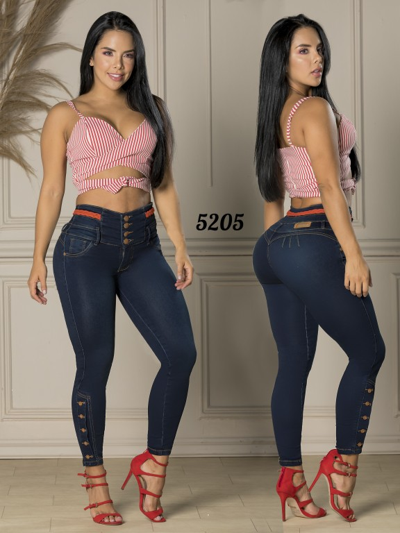 Jeans Levantacola Colombiano - Ref. 119 -5205-S