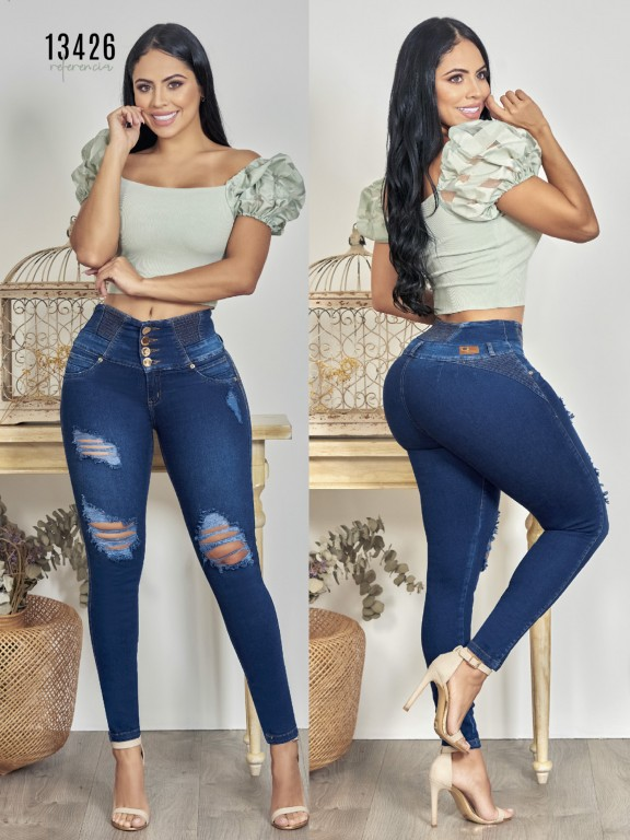 Colombian Butt lifting Jean - Ref. 123 -13426TW