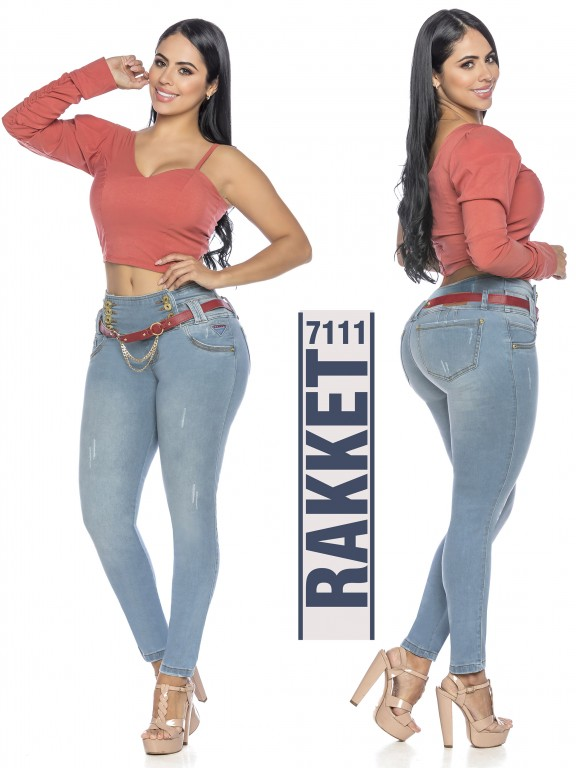 Jeans Levantacola Colombiano - Ref. 261 -7111 R