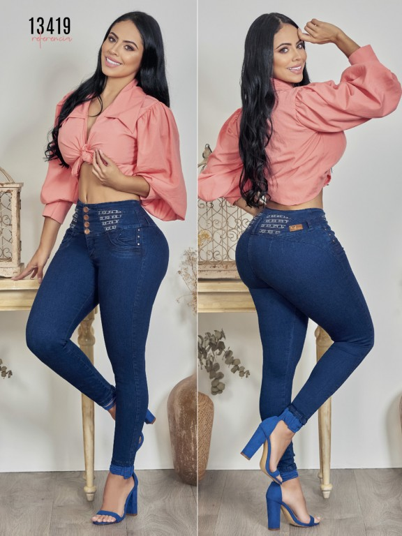 Colombian Butt lifting Jean - Ref. 123 -13419TW