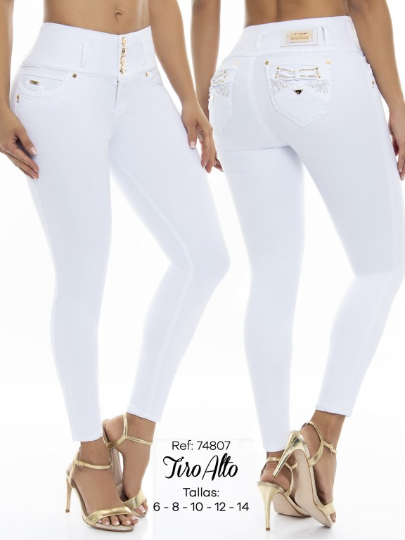 Jeans Levantacola Colombiano - Ref. 248 -74807 D
