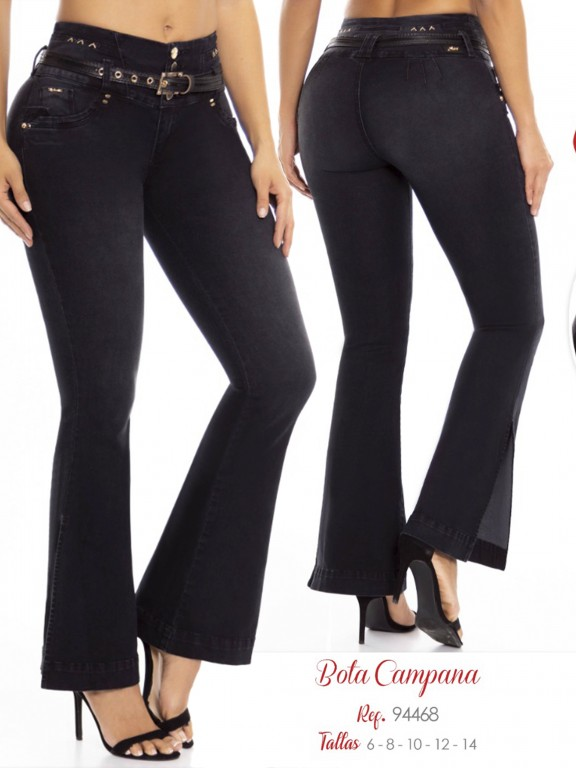 Jeans Levantacola Colombiano - Ref. 248 -94468 D