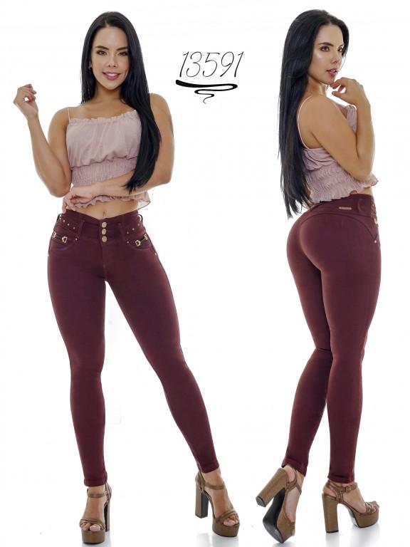 Jeans Levantacola Colombiano Cheviotto - Ref. 101 -13591