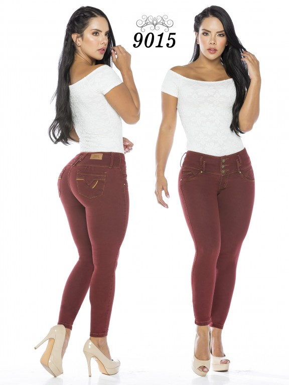 Jeans Levantacola Colombiano - Ref. 119 -9015