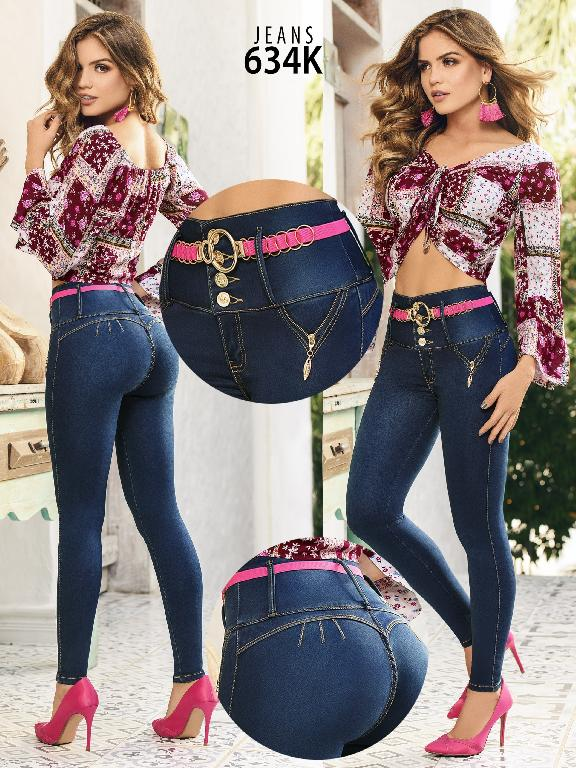Colombian Butt lifting Jean - Ref. 119 -634K