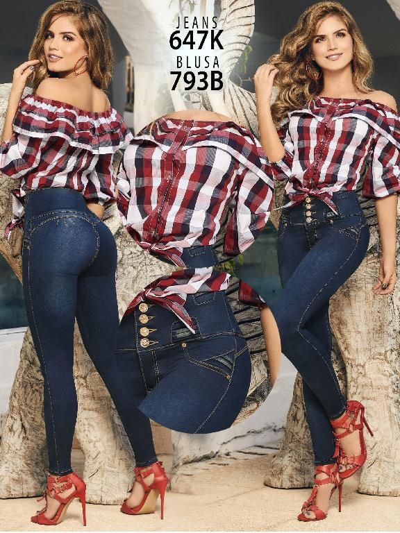 Colombian Butt lifting Jean - Ref. 119 -647K