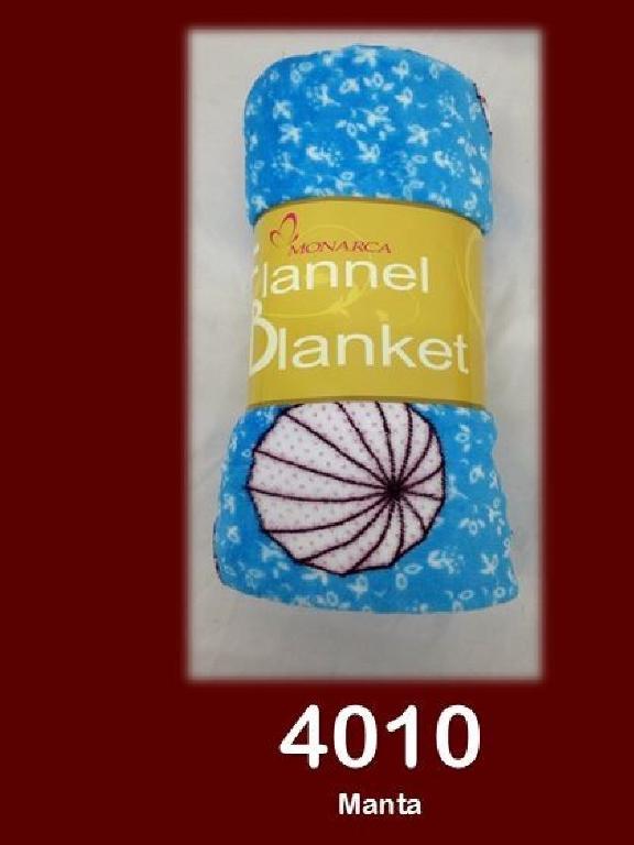Manta 50X60 Azul  - Ref. 272 -4010-5 50X60 Azul