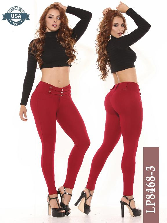 Azulle Fashion Classic Pants - Ref. 270 -LP8468-3 Rojo