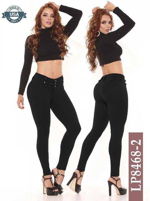 Azulle Fashion Classic Pants - Ref. 256 -LP8468-2 Negro