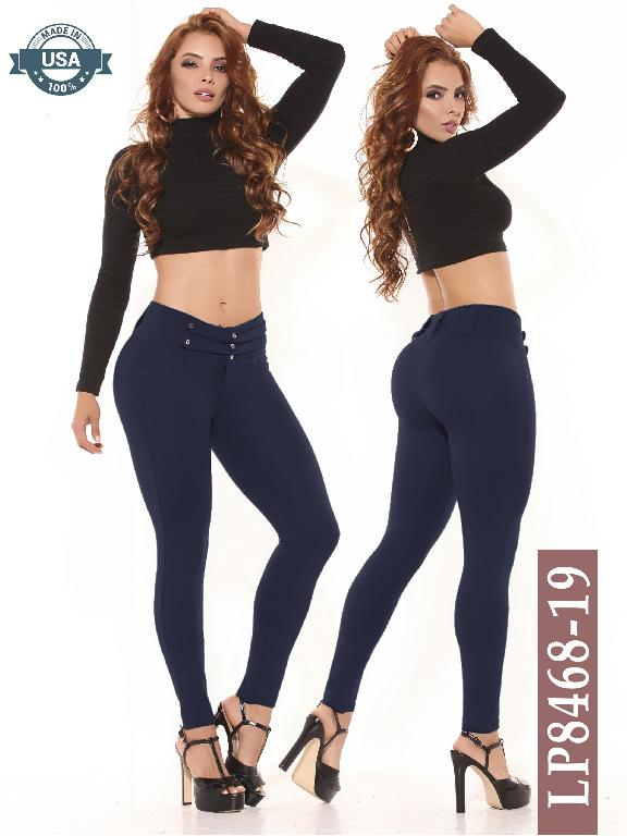 Azulle Fashion Classic Pants - Ref. 256 -LP8468-19 Azul Petroleo