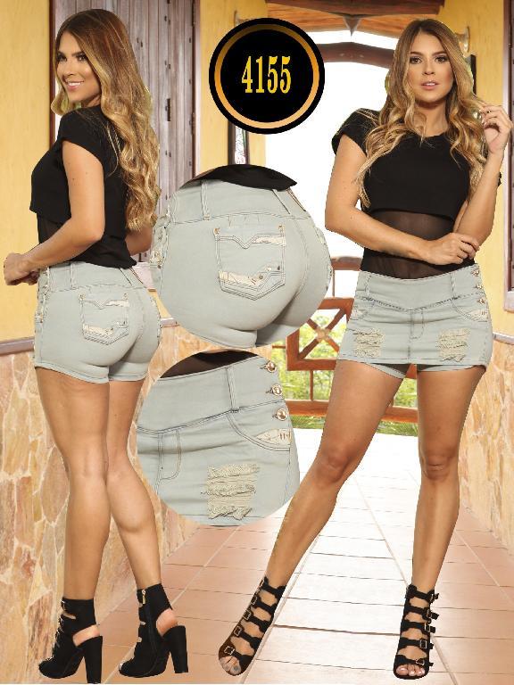 Falda Short  Levantacola Colombiano Cokette  - Ref. 119 -4155 CK