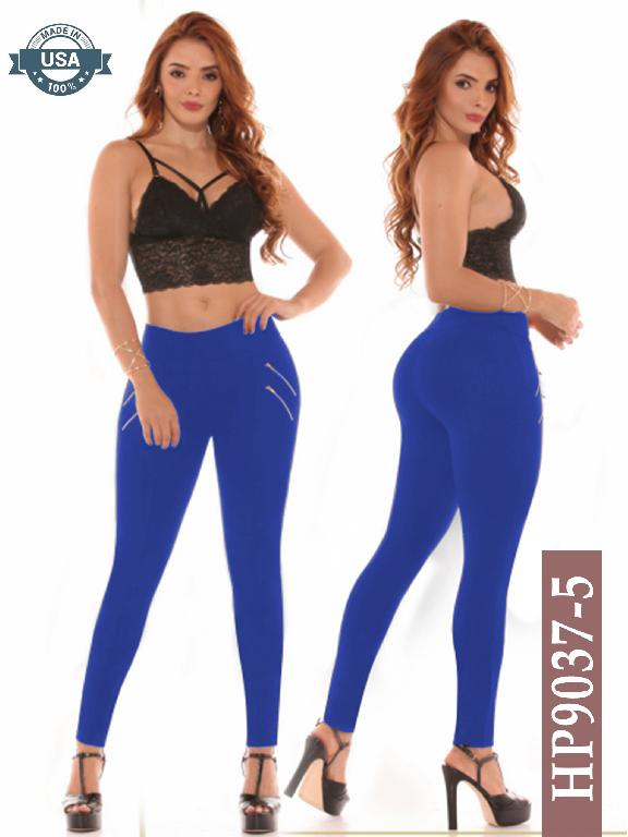 Leggins Azulle Fashion - Ref. 256 -HP9037-5 Azul