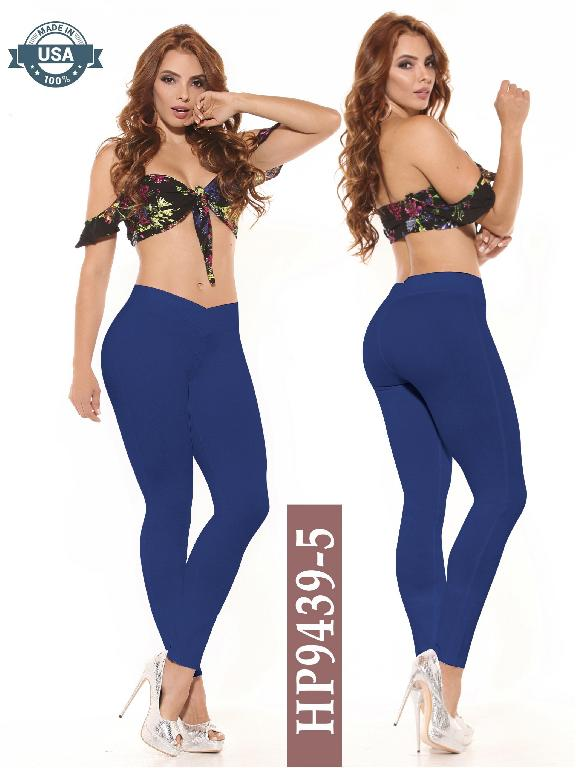 Leggings Azulle Fashion - Ref. 256 -HP9439-5 Azul