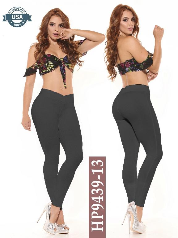 Leggings Azulle Fashion - Ref. 256 -HP9439-13Gis