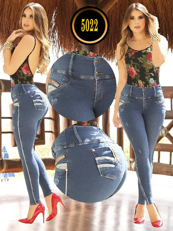 Jeans Levantacola Colombiano - Ref. 119 -5022 S