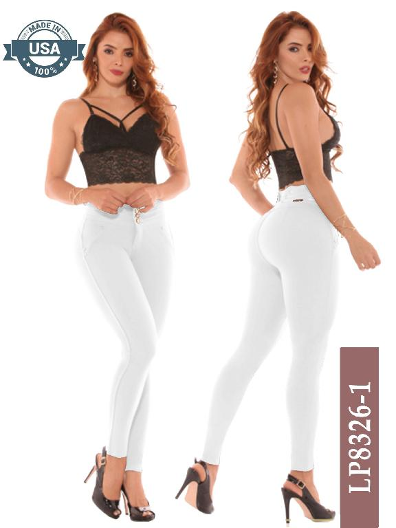 Leggings Azulle Fashion - Ref. 256 -LP8326-1 Blanco