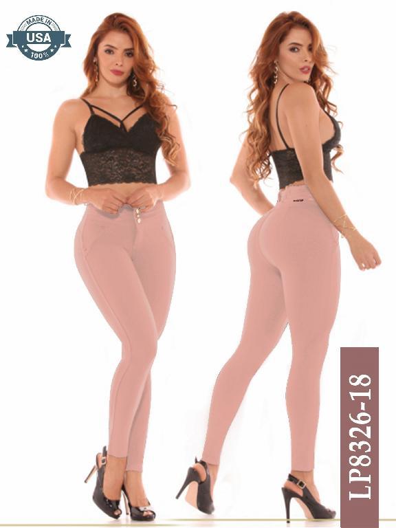 Leggings Azulle Fashion - Ref. 256 -LP8326-18 Coral