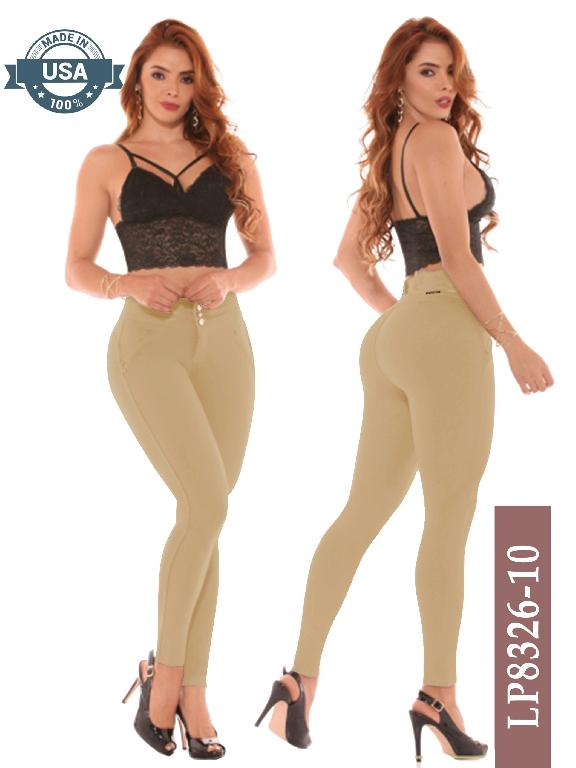 Leggings Azulle Fashion - Ref. 256 -LP8326-10 Kaky