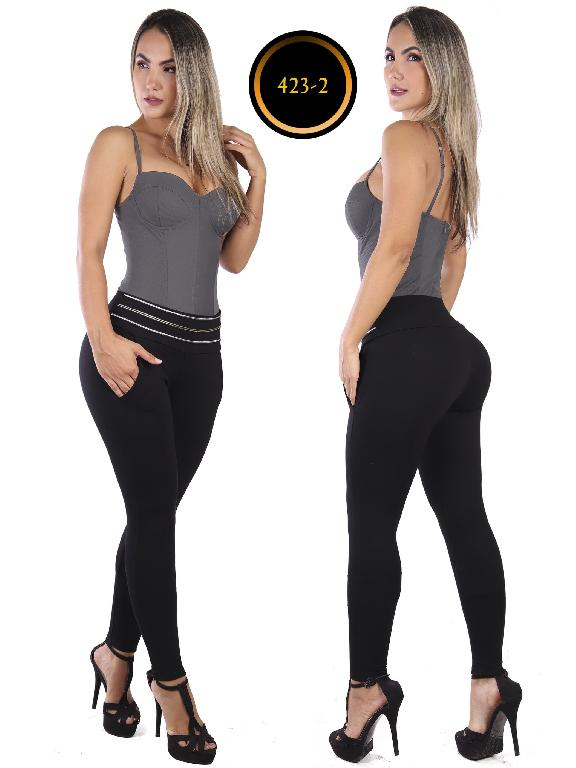 Leggings Perla - Ref. 277 -423-2 Negro