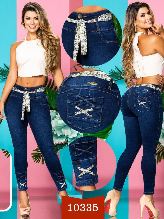 Colombian Jeans Butt Liftin  - Ref. 235 -10335-AA